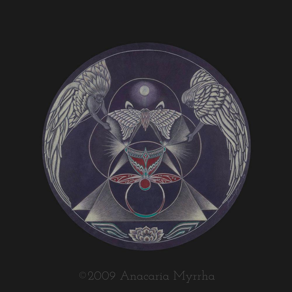Gift of the Grail ~ © 2009 Anacaria Myrrha